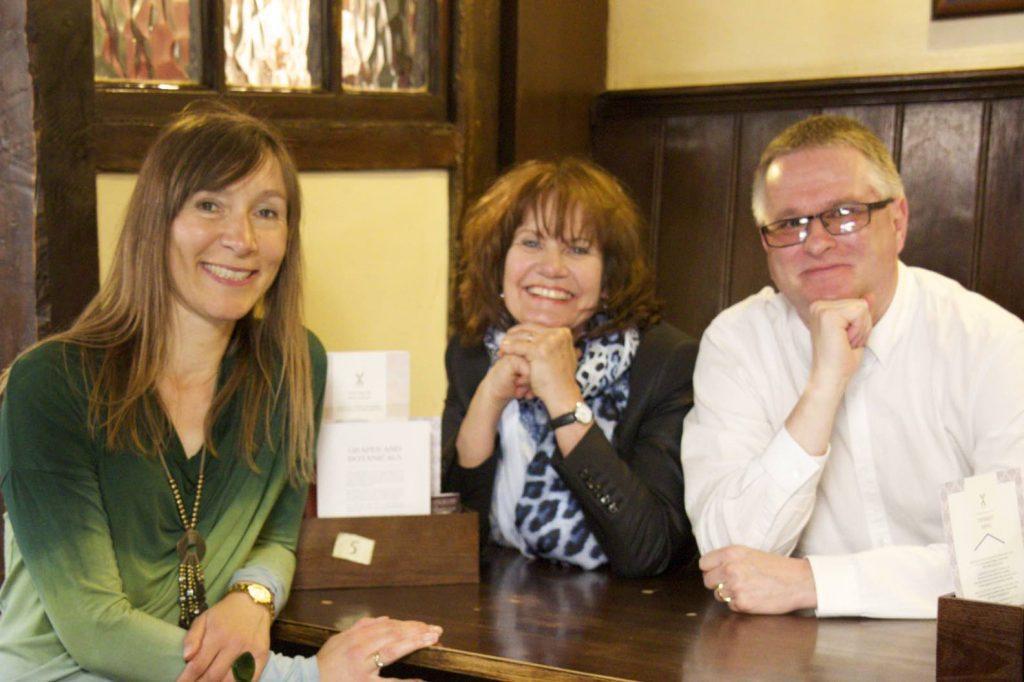 Het BAM! auteurs-team: v.l.n.r. Monique Fahner, Gea Gort en Mats Tunehag